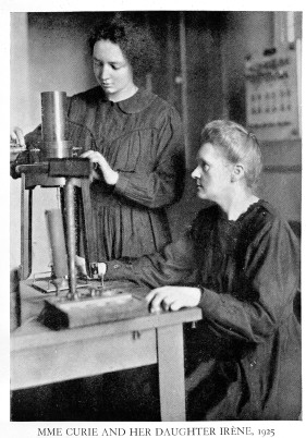 L0001759 Portrait of Marie Curie and her daughter Irene